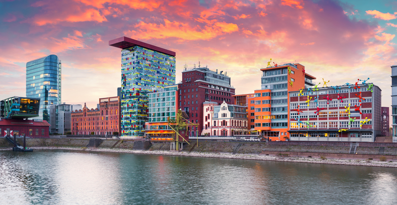 Dusseldorf is the capital of North Rhine-Westphalia.